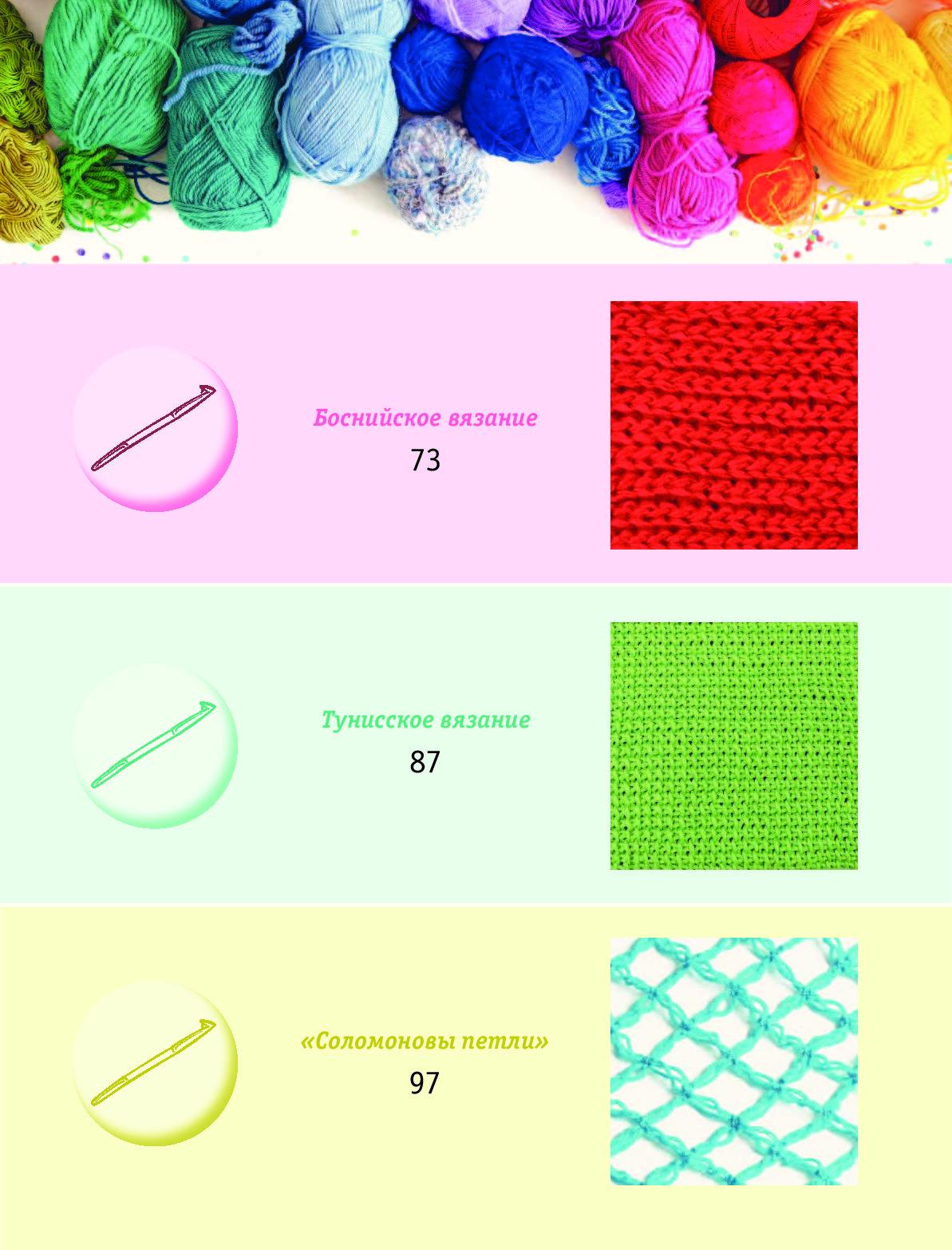 Модное вязание на спицах и крючком 48