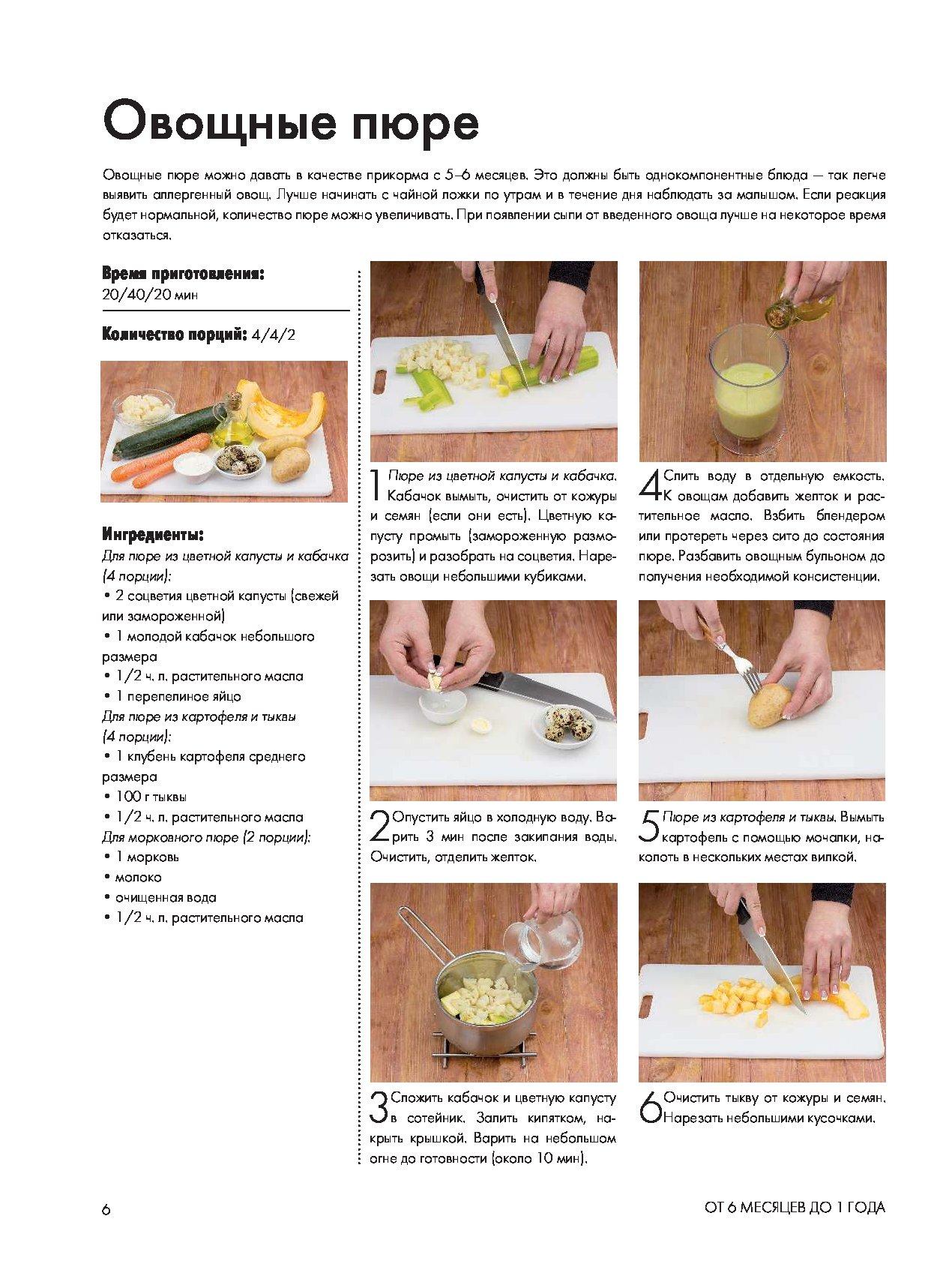 Рецепты для детей от 2 до 3 лет