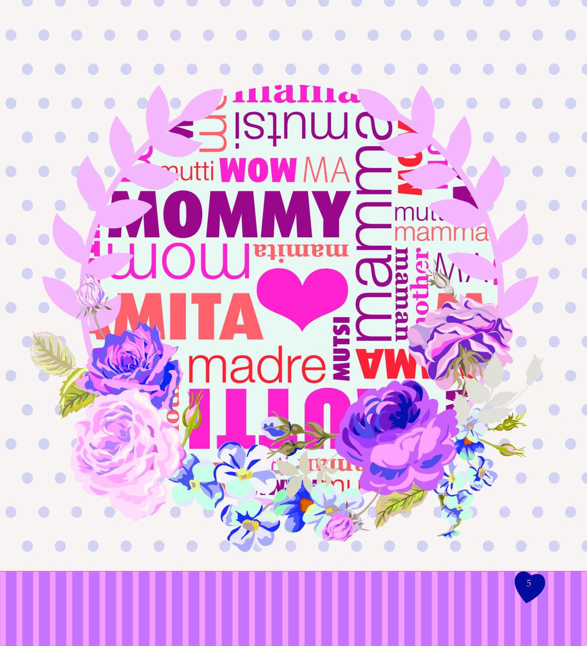 открытка единственной маме на свете с днем рождения основе